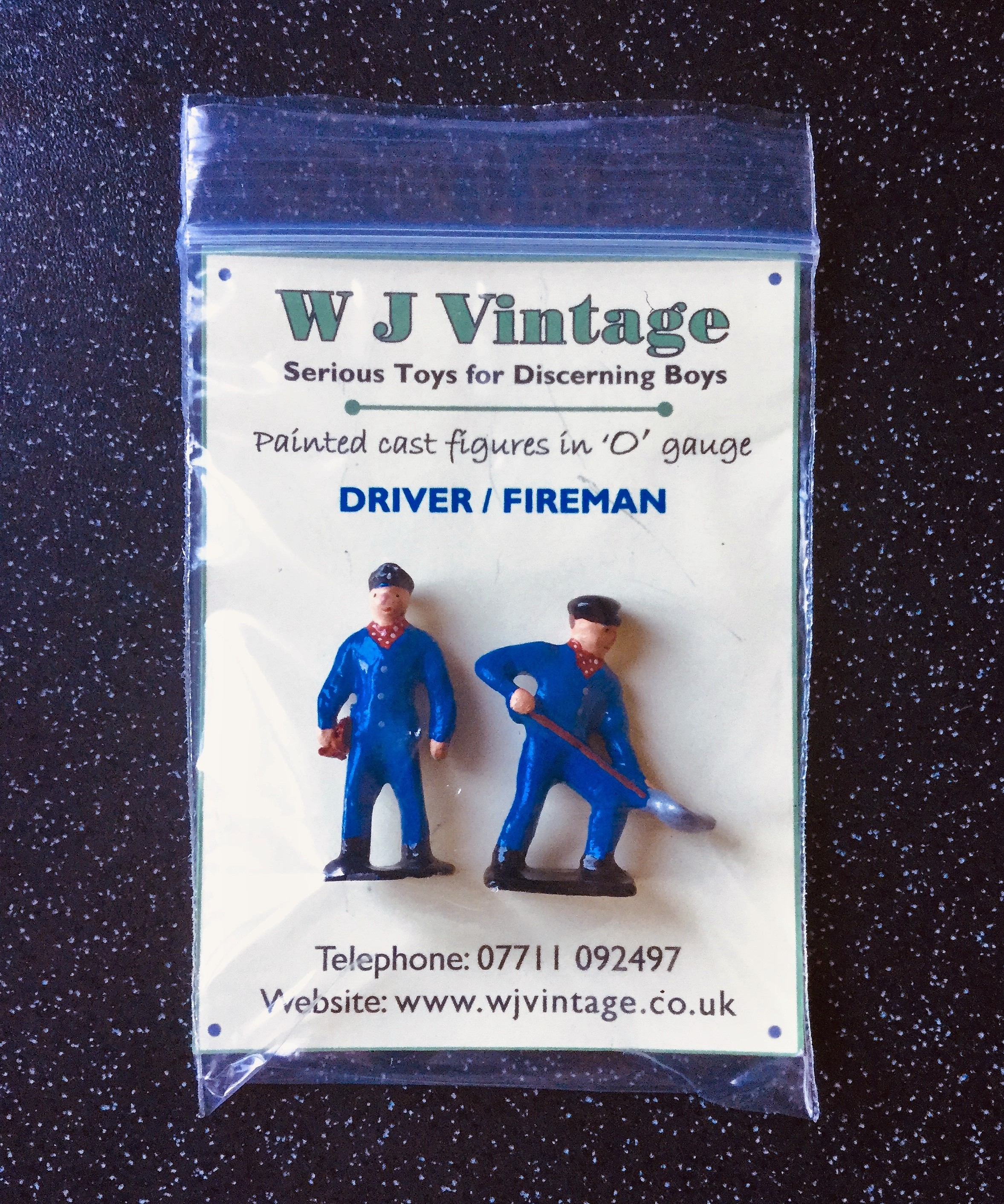 O Gauge Driver/Fireman Figure Set