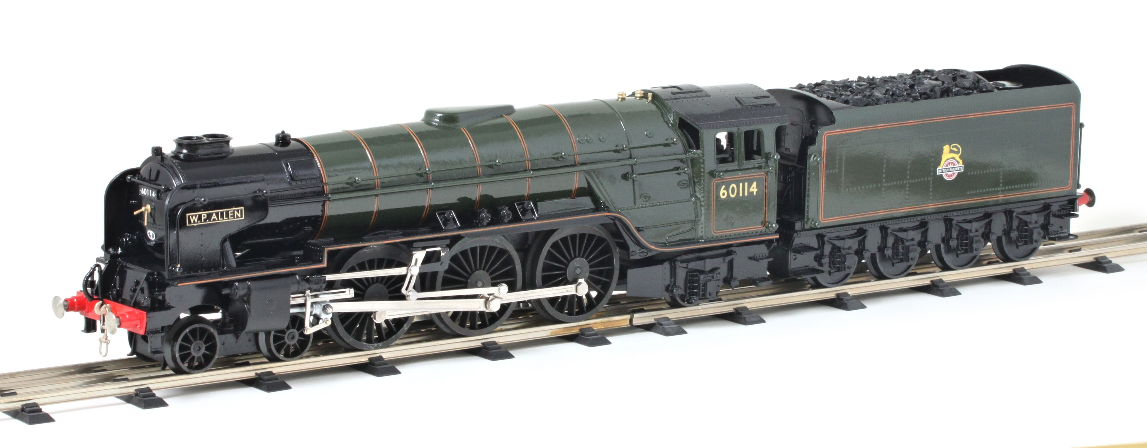 BR Peppercorn A1 Pacific 4-6-2 – BR Green Lined (early crest)