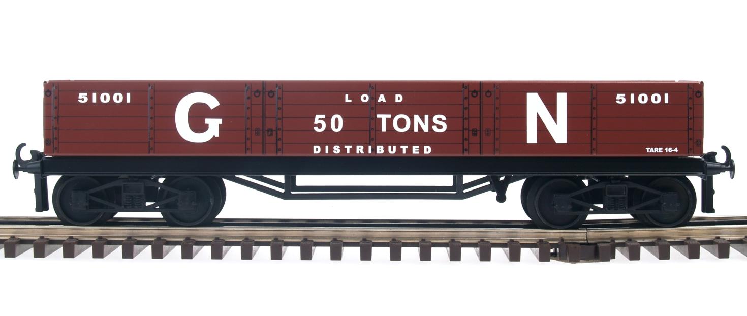 GNR/LNER High Capacity Bogie Brick Wagon/Sulphate Wagon