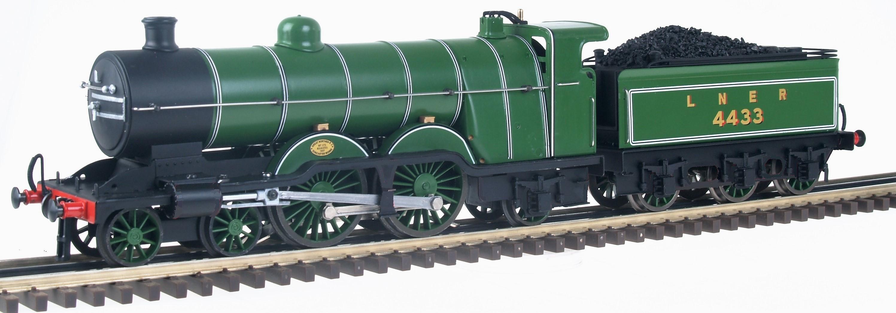 GNR/LNRER Ivatt Class C1 4-4-2 Atlantic